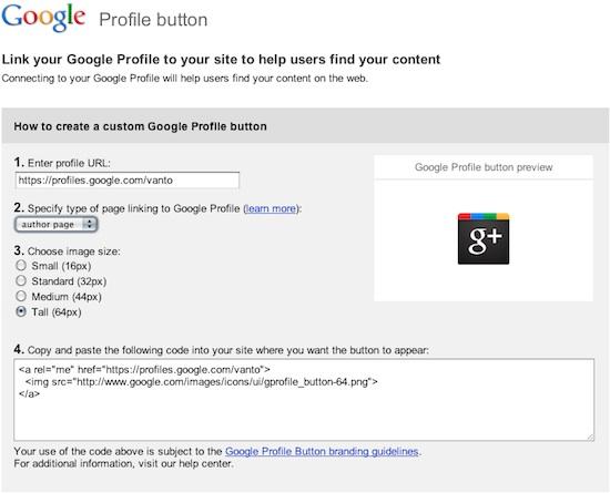 Como poner el Botón Oficial de tu perfil de Google+ en tu blog - como-poner-el-Boton-de-perfil-google+
