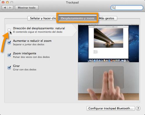 Como regresar al antiguo scroll en Mac OS X Lion - desactivar-scroll