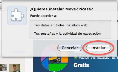 Como copiar nuestras fotos de Facebook a Google+ con Move2Picasa - move2picasa2