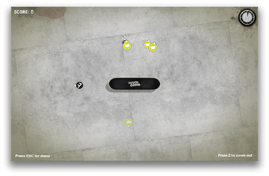 Captura de pantalla 2011 08 09 a las 09.29.44 Touchgrind, un gran juego multi touch para iOS llega a la Mac