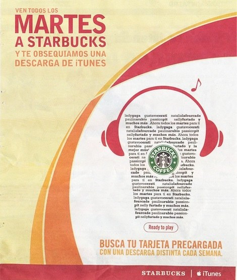 Starbucks pick of the week2 Starbucks regalará libros, aplicaciones y más en la compra de un café