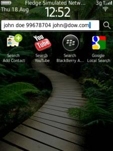 Agregar contactos rápidamente en tu Blackberry con QuickContact