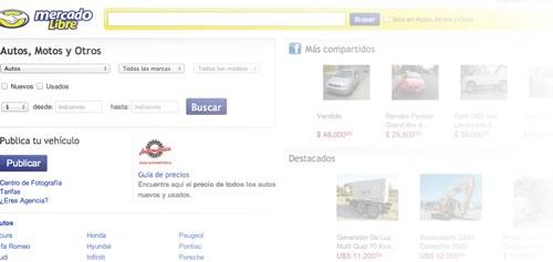 Comparar precios de automóviles por internet es muy popular entre los Mexicanos - autos-mercado-libre