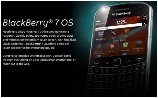 Nuevos modelos de BlackBerry con OS 7 - blackberryos7