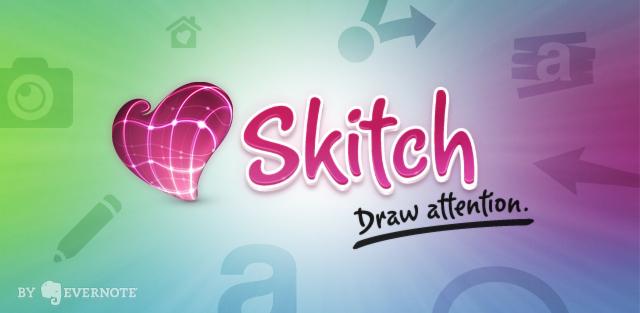 Evernote compra la aplicación para editar y compartir fotos Skitch - evernoteskitch