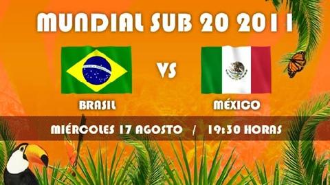 mexico brasil en vivo mundial sub20 México vs Brasil en vivo, Semifinal Mundial sub20