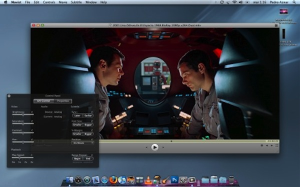 Los cinco mejores reproductores de video para Mac - movist_2001