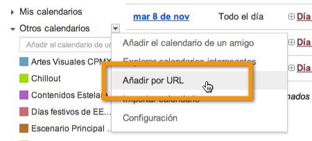 otros calendarios google calendar Agregar recordatorios de cumpleaños de Facebook a Google Calendar
