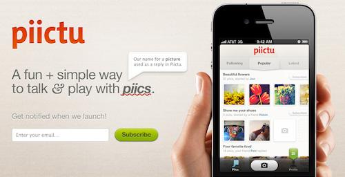 Piictu para iPhone, lleva una conversación usando imágenes