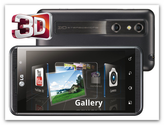 LG Optimus 3D LG Optimus 3D oficialmente disponible en México