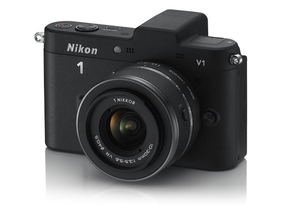 Nikon 1 V1 Nikon presenta sus novedosas cámaras Evil V1 y J1