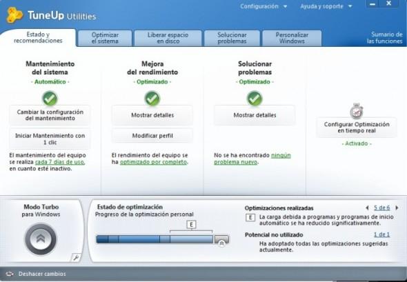 TuneUp Utilities, mejora el rendimiento de tu PC con un par de clics - Tune-Up-1-590x409