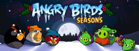 angry birds seasons Angry Birds, un juego muy entretenido y adictivo