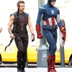 Fotos y videos de la grabación de The Avengers