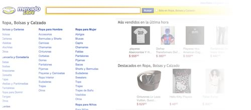 comprar ropa internet Ropa y accesorios de lo más vendido en internet