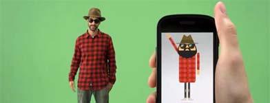 droid1 Tu avatar con personalidad y estilo con Androidify