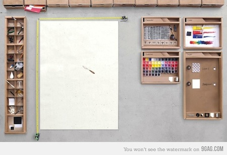 Si Photoshop fuera un escritorio de verdad [Imagen] - escritorio-photoshop