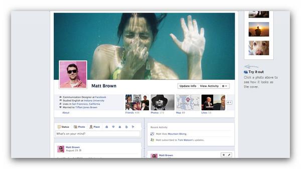 Mark Zuckerberg presenta el nuevo Timeline de Facebook - facebook-timeline