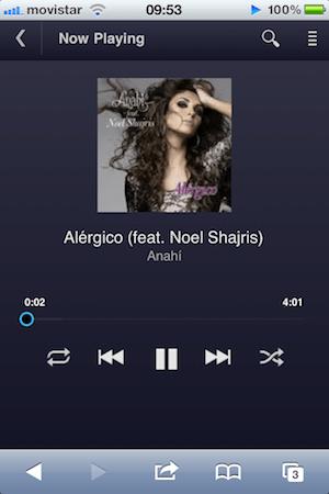 Google Music para iOS - google-music-ios
