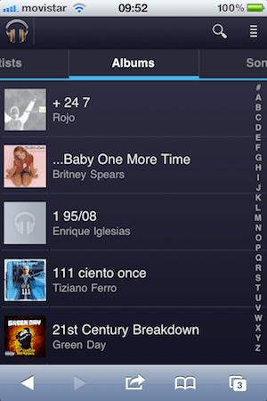 Google Music para iOS - google-music