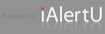 iAlertu, eficaz alarma antirrobo para tu Mac - ialertu