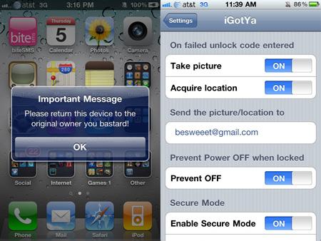 igotya Protege a tu iPhone de robos con iGotya