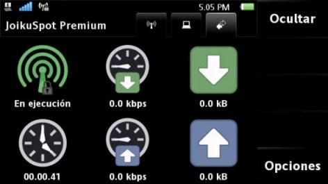 joikuspot symbian 590x331 Compartir internet desde tu celular con Joikuspot