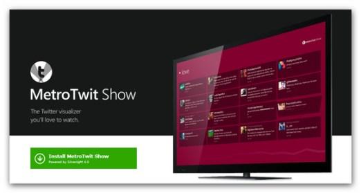 MetroTwit Show el perfecto visualizador de Twitter para eventos - metrotwit-show