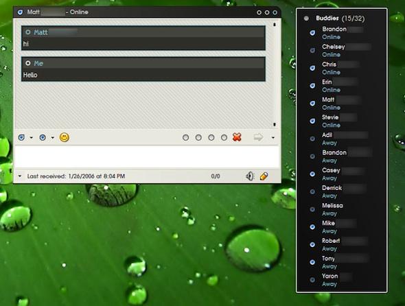 Miranda IM, un rápido cliente de mensajería instantánea para Windows - miranda-Im-2