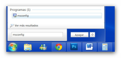 Deshabilitar el inicio de programas al arrancar Windows - msconfig