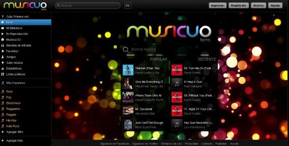Escucha música en linea gratis con Musicuo - musicuo-590x298