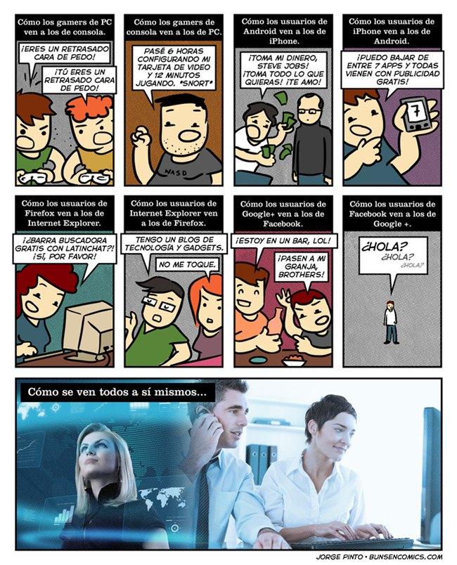 percepciones bunsen Percepciones tecnológicas [Humor]