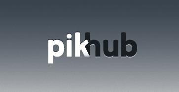 Pikhub, Finalista Mexicano del Desafío Intel América Latina - pikhub-logo-black