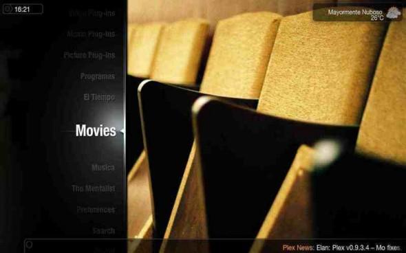 plex media center 590x368 Plex, un excelente Media Center multiplataforma