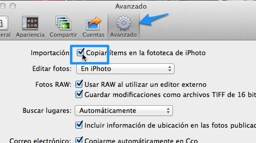 preferencias iphoto 1 Cómo mantener sin duplicados tus canciones y fotos de iTunes y iPhoto en tu computadora