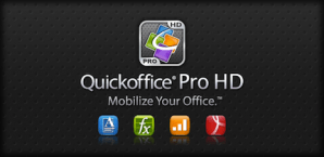 QuickOffice HD para tablets Android