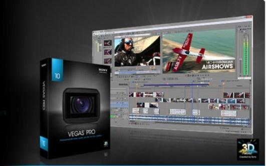 Sony Vegas Pro, uno de los mejores editores de video - sony-vegas-10-590x370