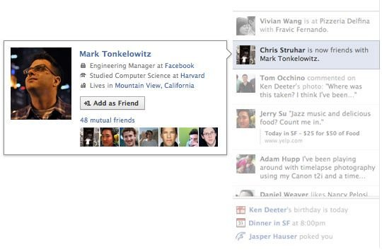 Cómo ocultar el molesto Ticker de Facebook - ticker-facebook