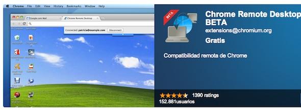 Aplicaciones para conectarse remotamente a tu PC - Chrome-remote-desktop