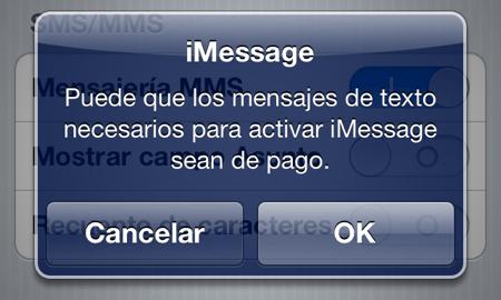 Como configurar iMessage en tu dispositivo con iOS 5 - aviso-imessage