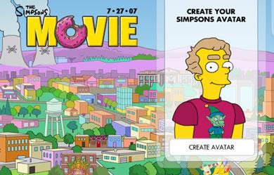 Crea tu avatar de los Simpsons