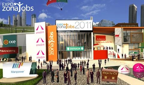 expo zonajobs 2011 Expo ZonaJobs 2011, la feria virtual de empleo más grande de México
