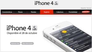 Precios de iPhone 4S en Iusacell