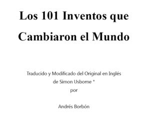 Inventos que cambiaron al mundo en PDF