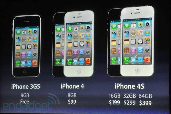 iPhone 4S al fin ve la luz, tenemos los detalles - iphone-precios