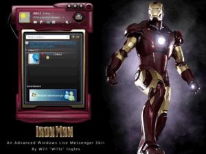 Temas para Messenger – Iron Man y Kung Fu Panda