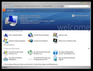 Leopard Transformation Pack para Windows Vista, Vista OS X