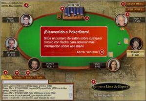 Poker gratis en español en Poker Stars