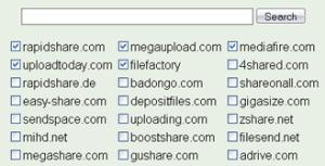 Buscar en rapidshare, megaupload y otros sitios en LoadEvery