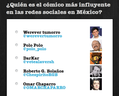 Social Media Awards 2011, los mexicanos más influyentes en las redes sociales - social-media-awards-2011-comedia